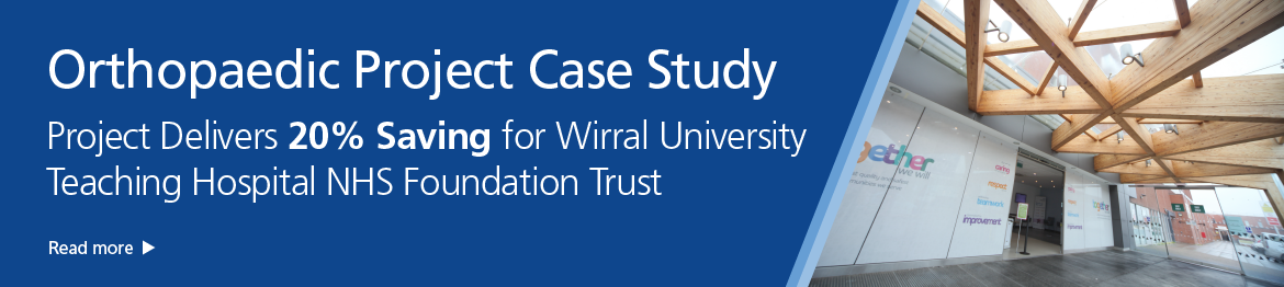 View our Orthopaedic Case Study